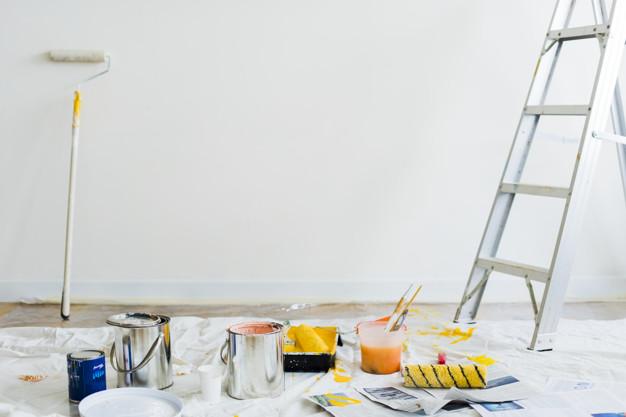 maling af væg